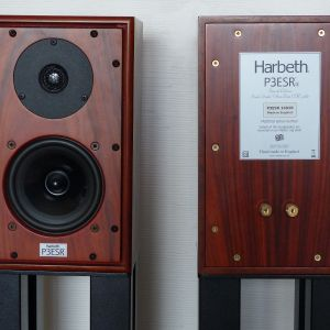 Harbeth P3ESR Rosewood - Pieds MUSIC TOOLS