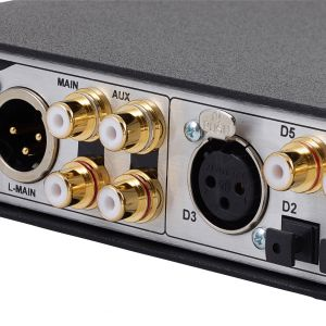 Benchmark DAC2 DX - Connectique